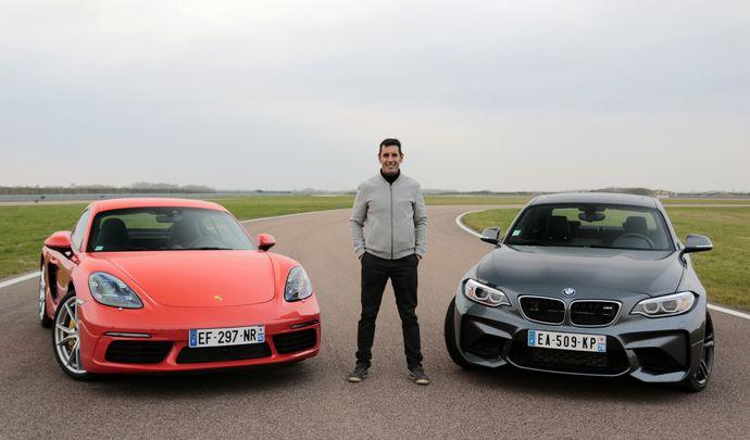 Comparatif vidéo - BMW M2 vs Porsche Cayman S : la course à l'excellence