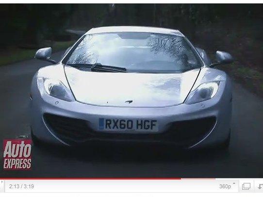 Premier essai routier de la McLaren MP4 12C [vidéo]