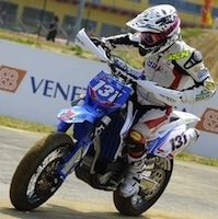 Supermotard, championnat internationnal d'Italie 2012, round 3: Hermunen encore