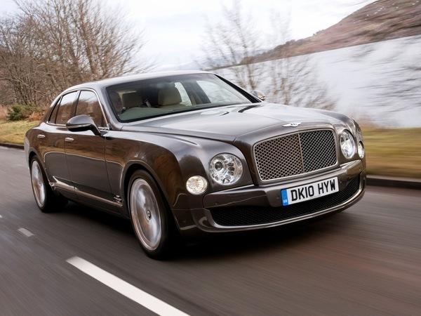 Une Bentley Mulsanne qui roule, est-ce beau ?