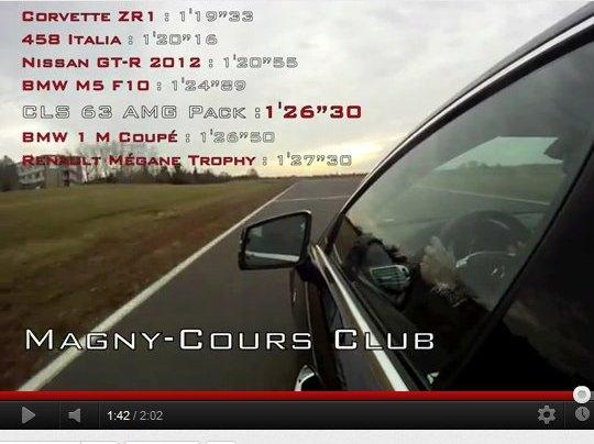 [vidéo] Un tour chrono en Mercedes CLS 63 AMG avec Motorsport