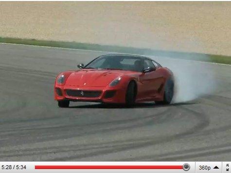 [vidéo] Ferrari 599 GTO : premier essai de la hurleuse