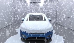 Ford : une usine pour simuler les pires conditions climatiques
