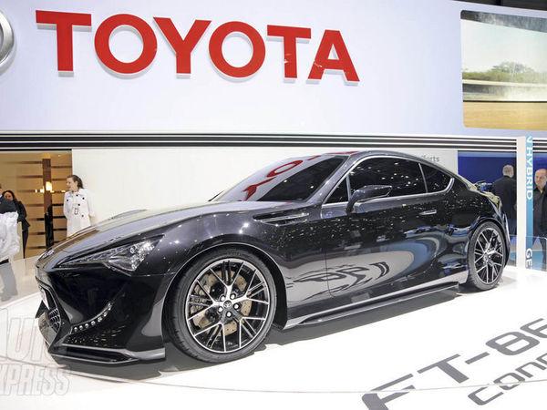 Toyota FT-86 : bientôt en version hybride