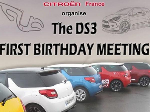 Un an de Citroën DS3, ça se fête à la Ferté-Gaucher