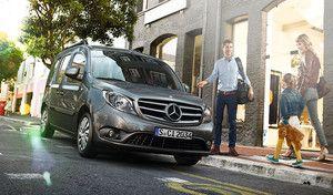 Mercedes Vans lance un site d'e-commerce avec des remises