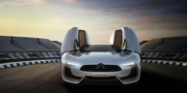 la Citroën GT Concept part s'amuser au carnaval de Venise