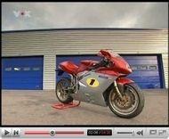 Vidéo «Mauto» : MV Agusta F4 vs Ferrari 550 GTS