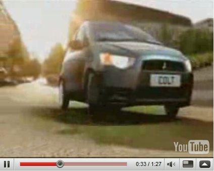 Vidéo Pub : Nouvelle Mitsubishi Colt