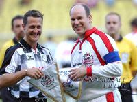 Schumacher participera à un match de foot à Monaco
