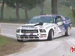 Mustang en rallye : séance de rodéo sous le signe de la dérive