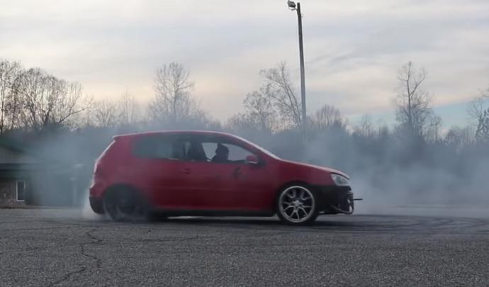 "La Volkswagen Golf GTI ""facilement"" transformée en propulsion"