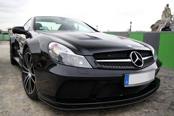 Photos du jour : Mercedes SL 65 Black Series