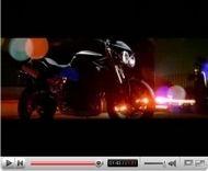 Vidéo Moto : Triumph Street Triple, film promotionnel