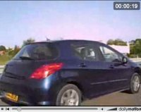 Future Peugeot 308 en vidéo !
