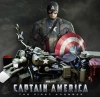 Cinéma - Harley-Davidson: Captain America roule en Cross Bones