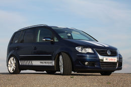 Volkswagen Touran TDI 223 chevaux par MR Car Design : monospace shuttle