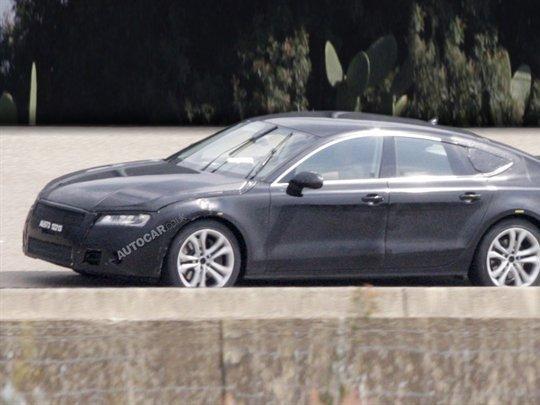 La future Audi RS7 aura son V10 de 580 ch