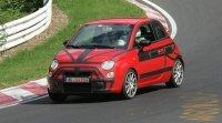 Future Fiat 500 Abarth sur le Ring' !