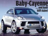 Future Porsche 'baby Cayenne' - Acte 2