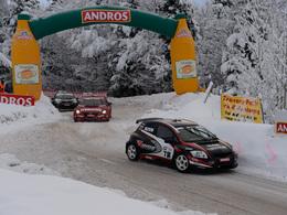 Trophée Andros - Lans en Vercors : Olivier Panis et Franck Lagorce recollent