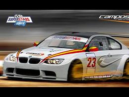 Campos Racing en Superstars Series avec 3 BMW M3!