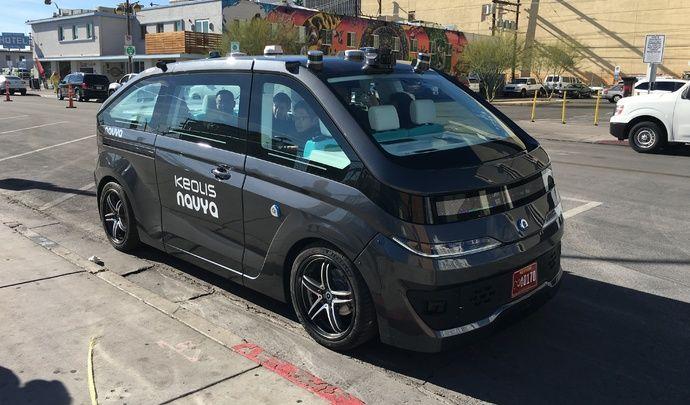 Caradisiac a essayé le taxi autonome de Navya, le premier au monde - Vidéo en direct du CES Las Vegas 2018