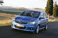 Opel Zafira OPC... et diesel