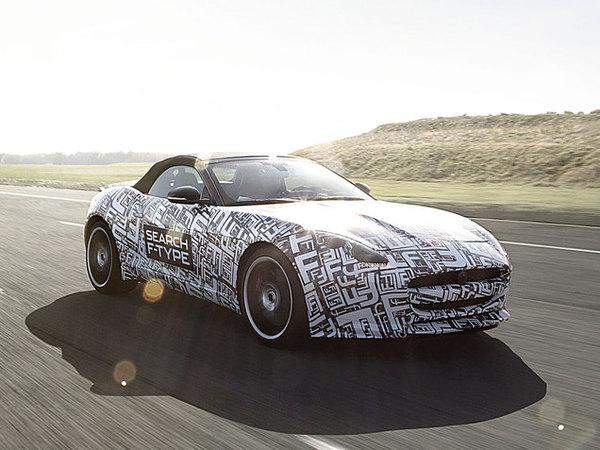 Future Jaguar F-Type: le V8 également au programme!