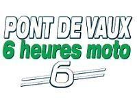 Après les 12, les 6 heures de Pont de Vaux moto, 1ère édition