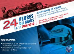 La liste des concurrents des 24 Heures du Mans 2010