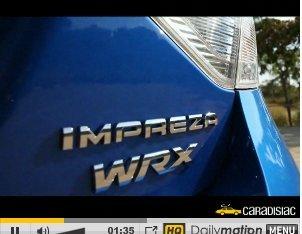 Essai : PaNic à bord ... de la Subaru Impreza WRX Satta System Sport