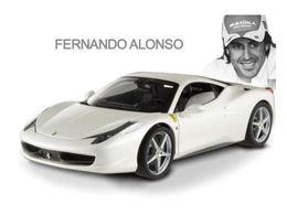 Fernando Alonso préfère les blanches (Ferrari)