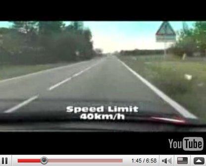 Vidéo : Lamborghini LP640, Valentino et toujours trop de camions ...