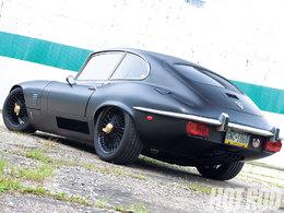 Jaguar Type E : V8 Chevrolet sous le capot, et peau de bête dans l'habitacle