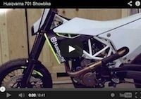 Husqvarna: le C 701 en vidéo