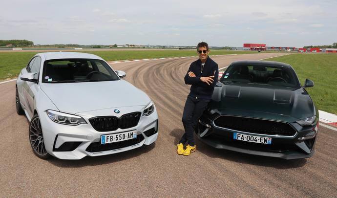 Comparatif - Les essais de Soheil Ayari : BMW M2 Compétition vs Ford Mustang Bullitt : la faucille contre le marteau