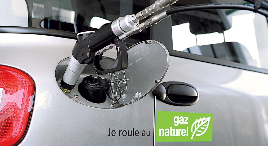 La France mise aussi sur le gaz naturel — Voitures propres