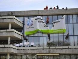 Volkswagen à nouveau épinglé par Greenpeace lors de son assemblée générale