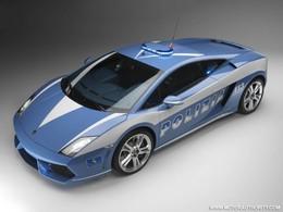 Lamborghini Gallardo LP560-4 Polizia : voiture de service (photos et vidéos)