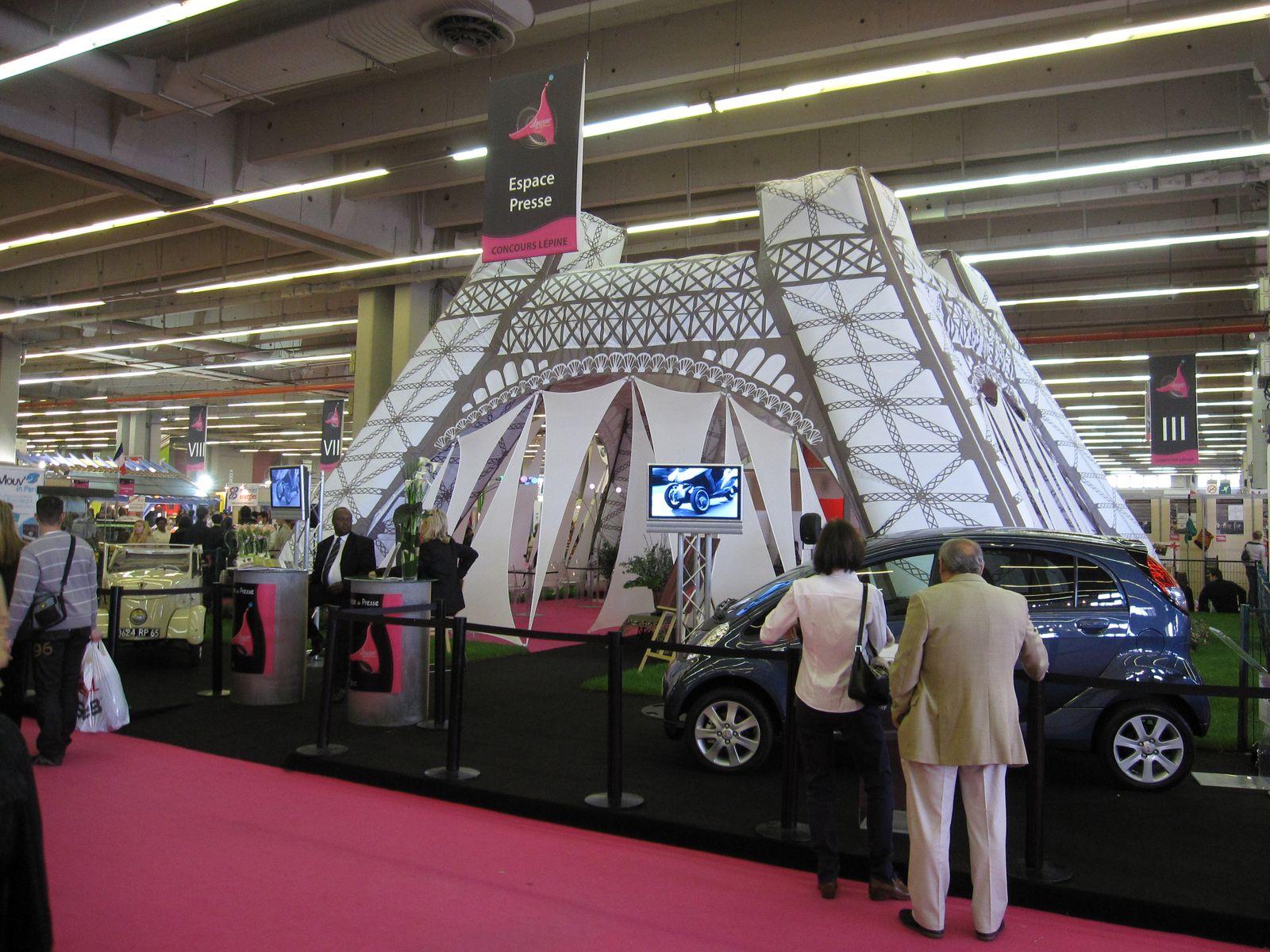 En direct de la foire de paris 2010 le palmar s du concours l pine - Foire de paris concours lepine ...