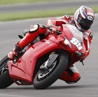Moto GP - Ducati: Vacances studieuses pour Nicky Hayden qui a découvert le nouvel Indy