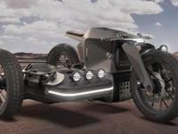 Un designer espagnol réinvente le side-car BMW