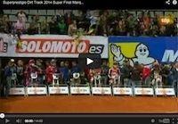 Superprestigio 2014, Baker vs Marquez: la vidéo de la Superfinale