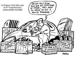 Le dessin du jour – La France : honnête et courageuse