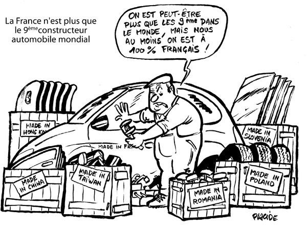 Le dessin du jour la france honn te et courageuse - Dessin humoristique voiture ...