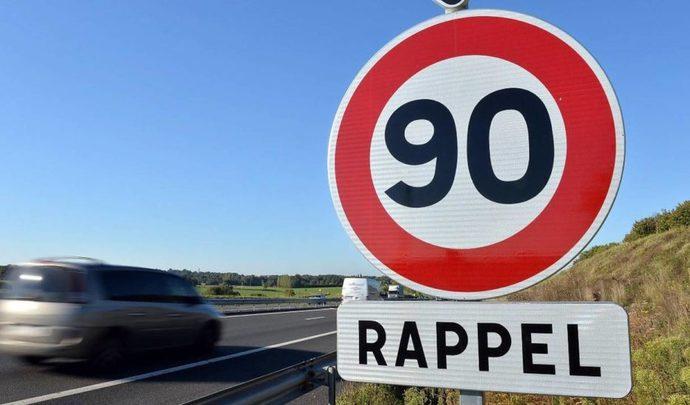La Dordogne repasse une partie de son réseau à 90 km/h
