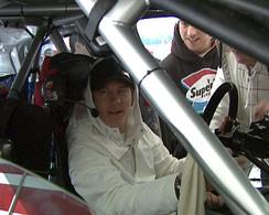 F1-IRC : Kimi Raïkkönen dans l'Abarth S2000