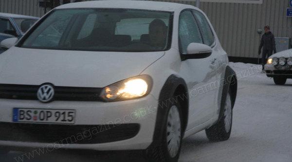 La future Volkswagen Golf 7 déjà en test