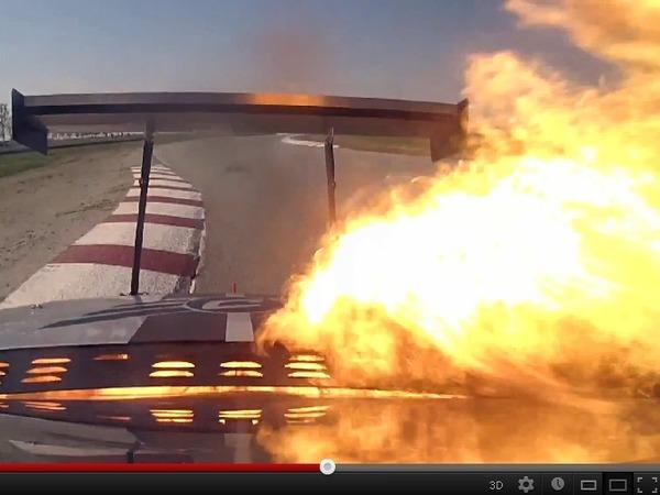 Global Time Attack : Chris Rado explose le moteur de 1 200 ch de sa Scion tC